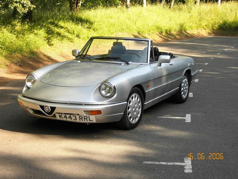 Alfa Romeo Spider Photos Informations Articles BestCarMagcom - 1993 alfa romeo spider for sale