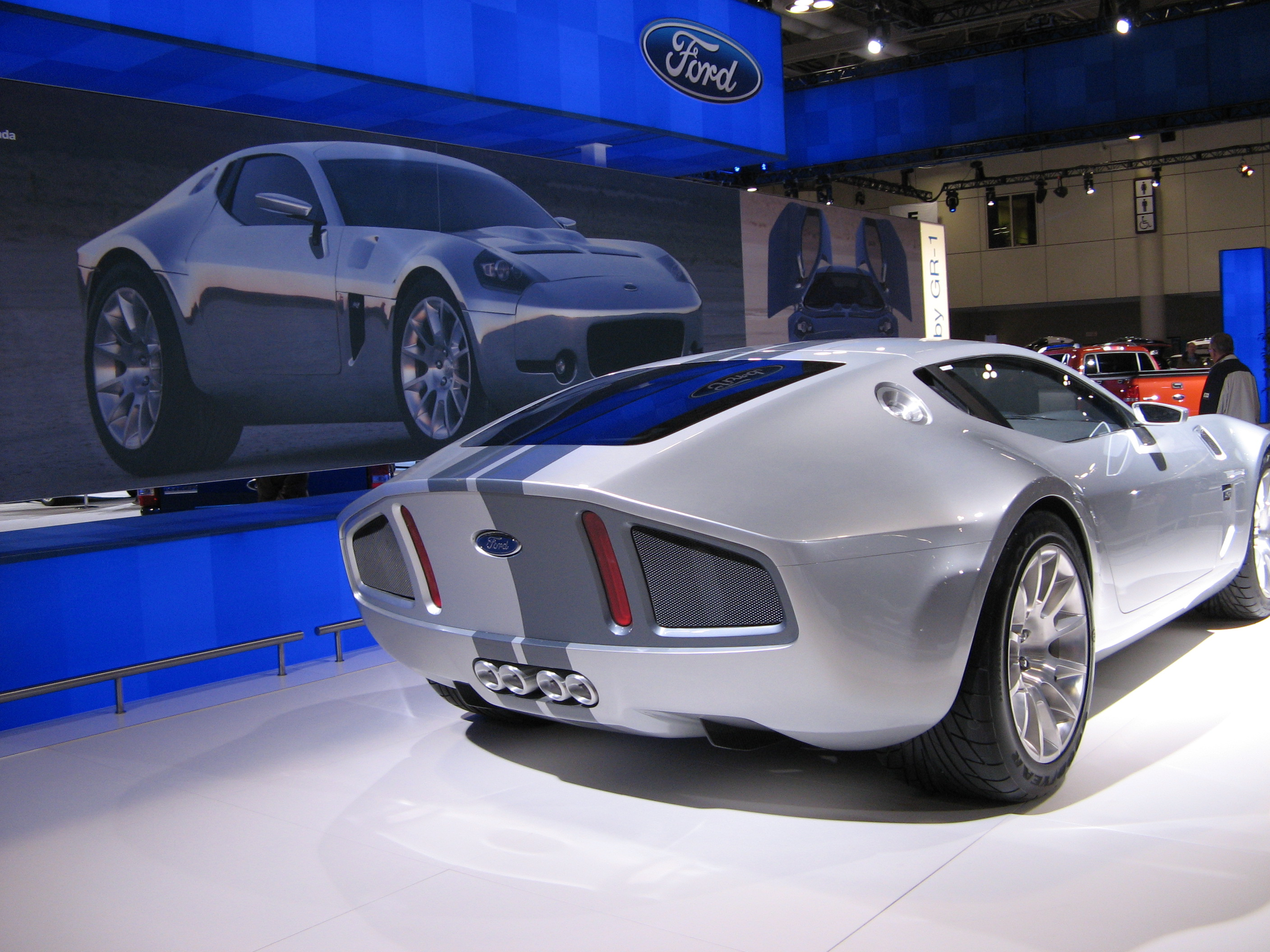 2005 Ford Shelby GR-1 Concept #8