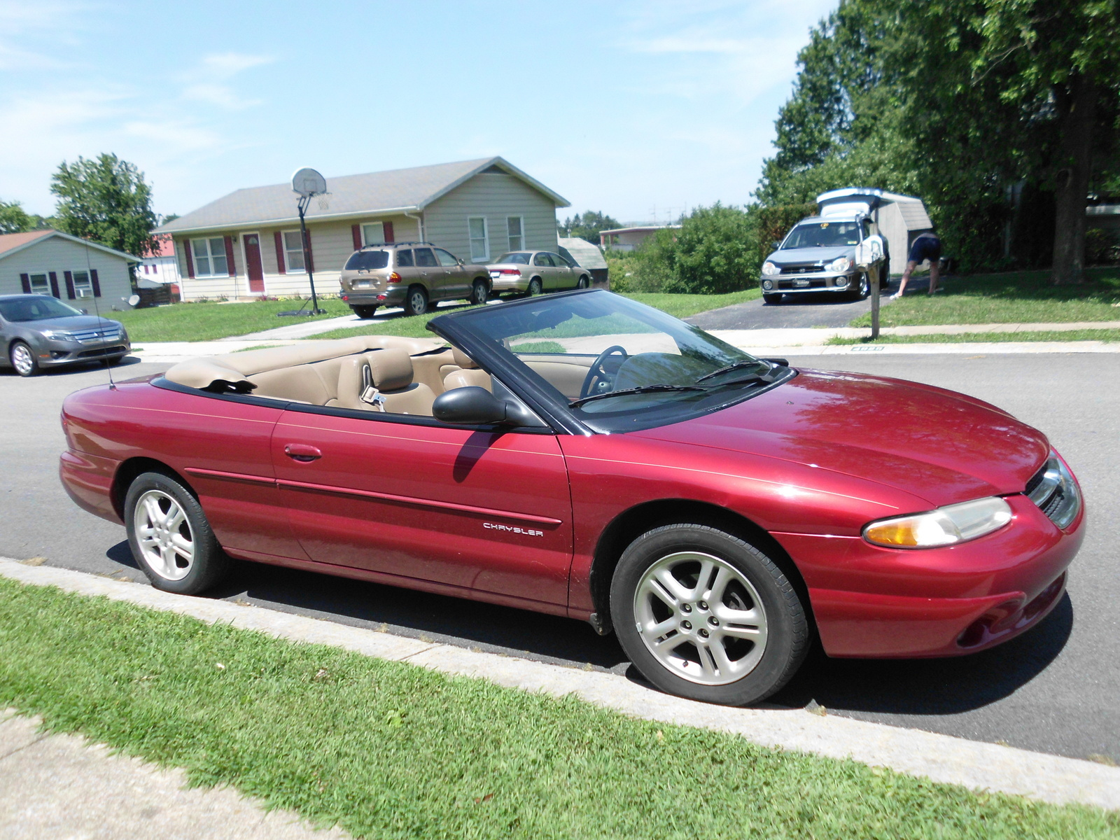 1996 Chrysler Sebring #3