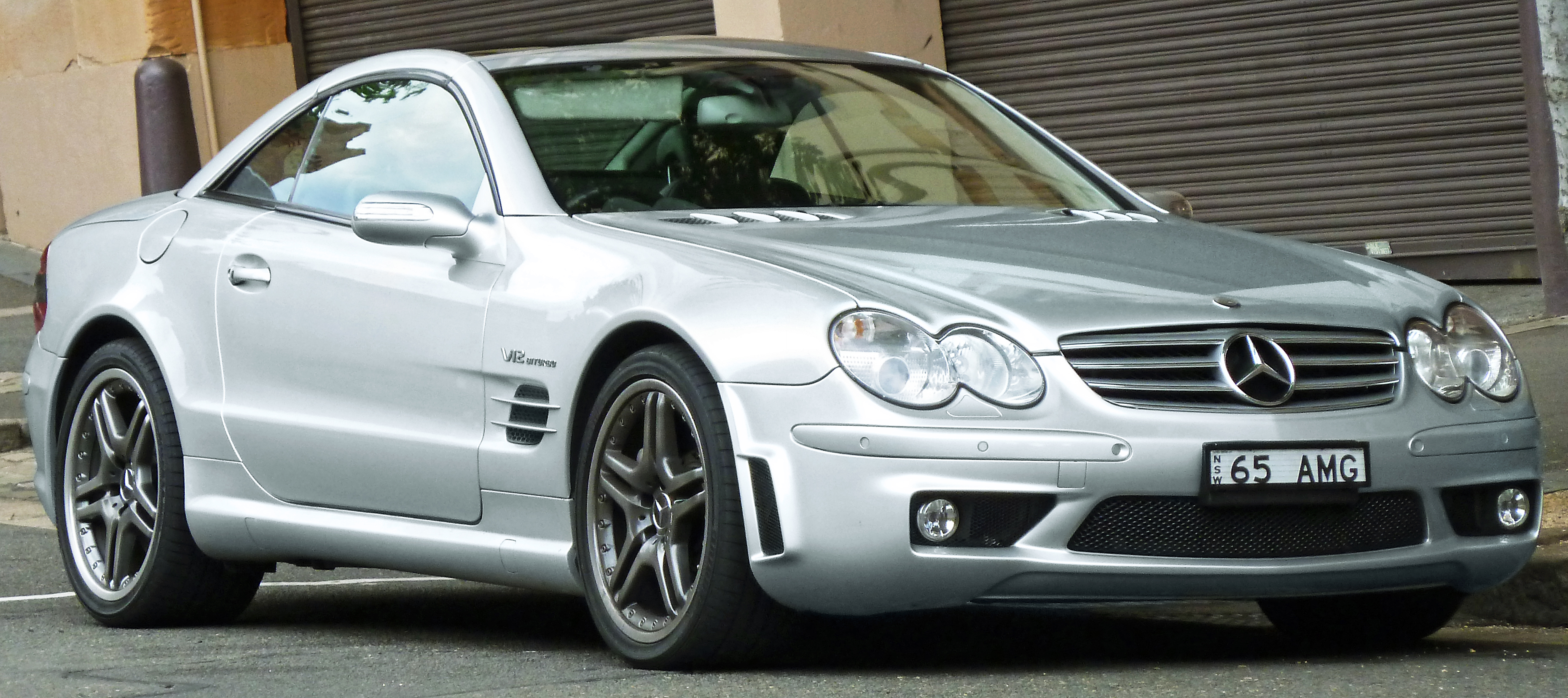 2004 Mercedes-Benz SL #6