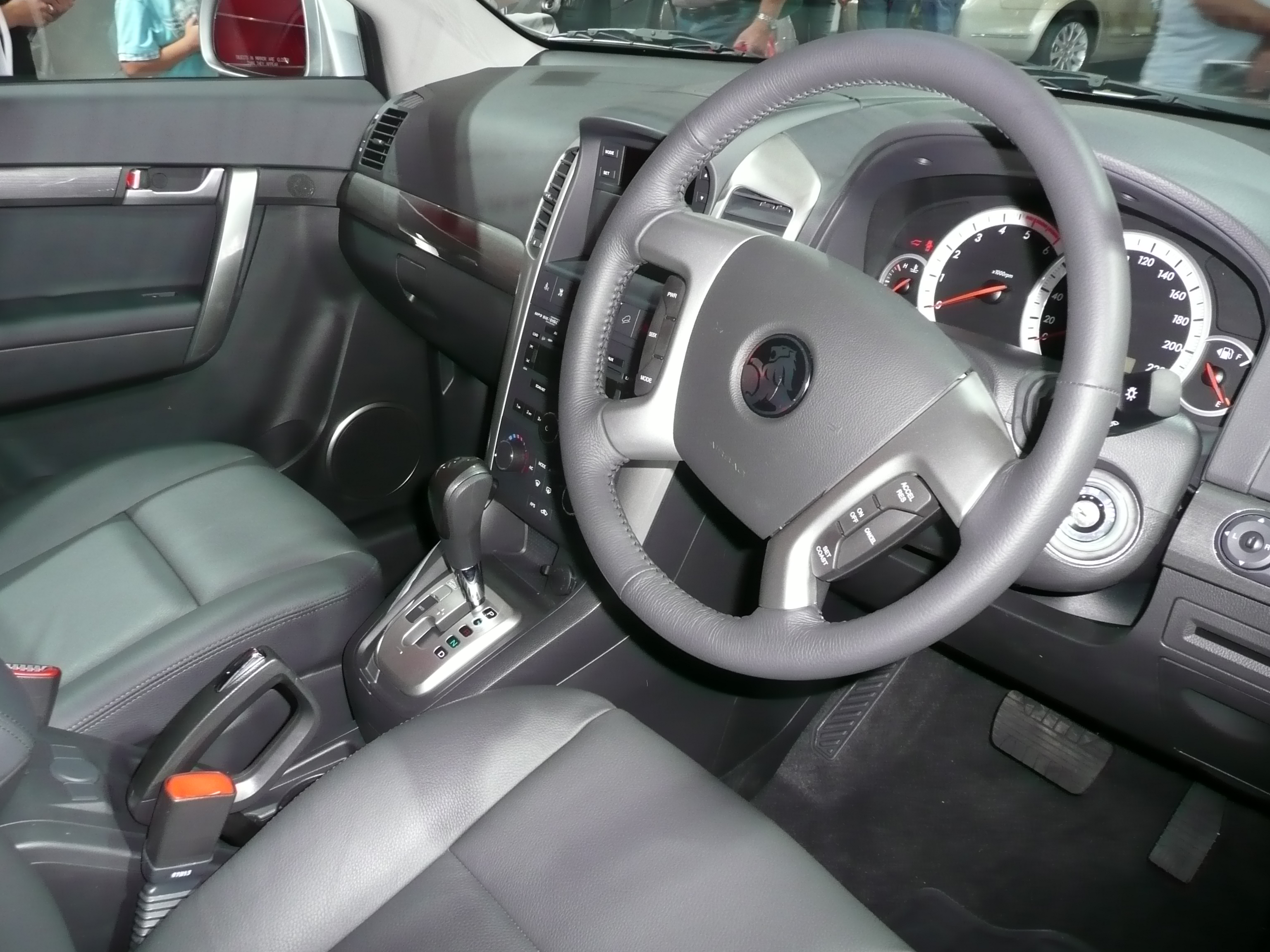 2007 Holden Captiva #9
