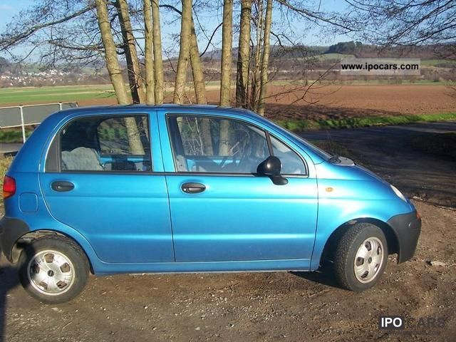 1998 Daewoo Matiz Photos, Informations, Articles - BestCarMag.com