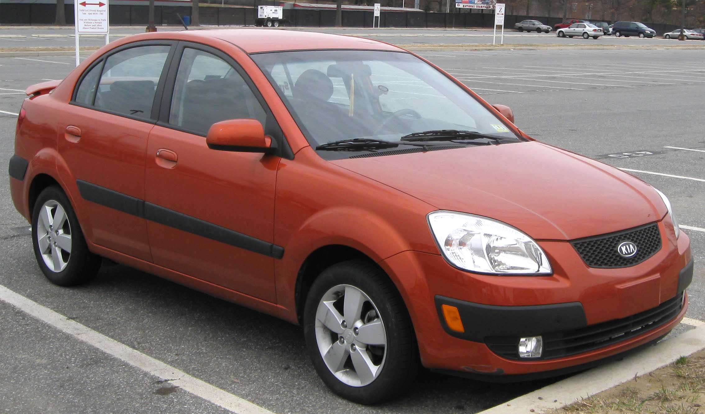 2006 Kia Rio Photos Informations Articles Bestcarmag Com