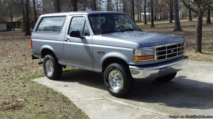 1994 Ford Bronco #16