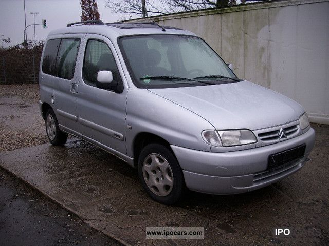 2001 Citroen Berlingo #6