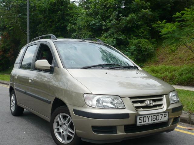 2003 Hyundai Matrix #7