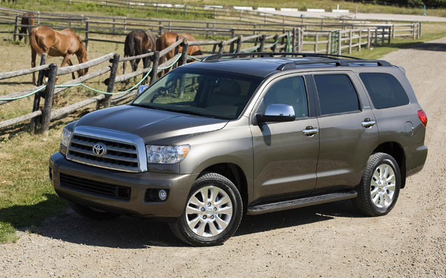 2008 Toyota Sequoia Photos Informations Articles Bestcarmag