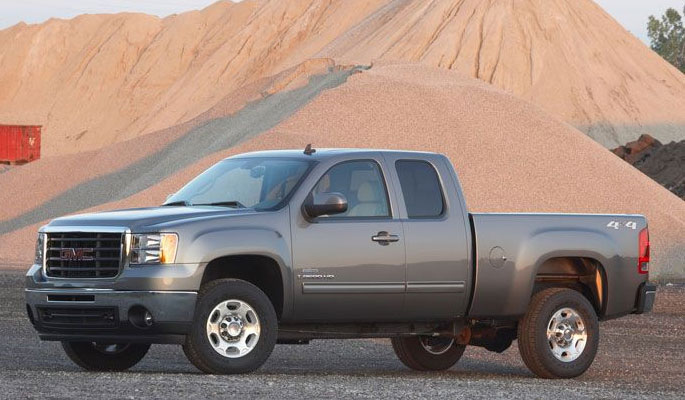 2010 GMC Sierra 2500hd #8