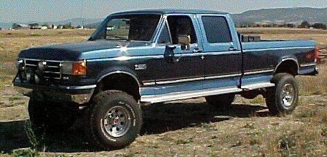 1990 Ford F-350 #8