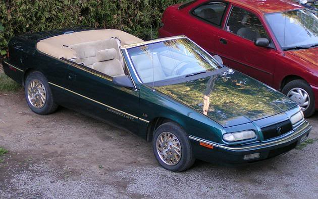1994 Chrysler Le Baron #9