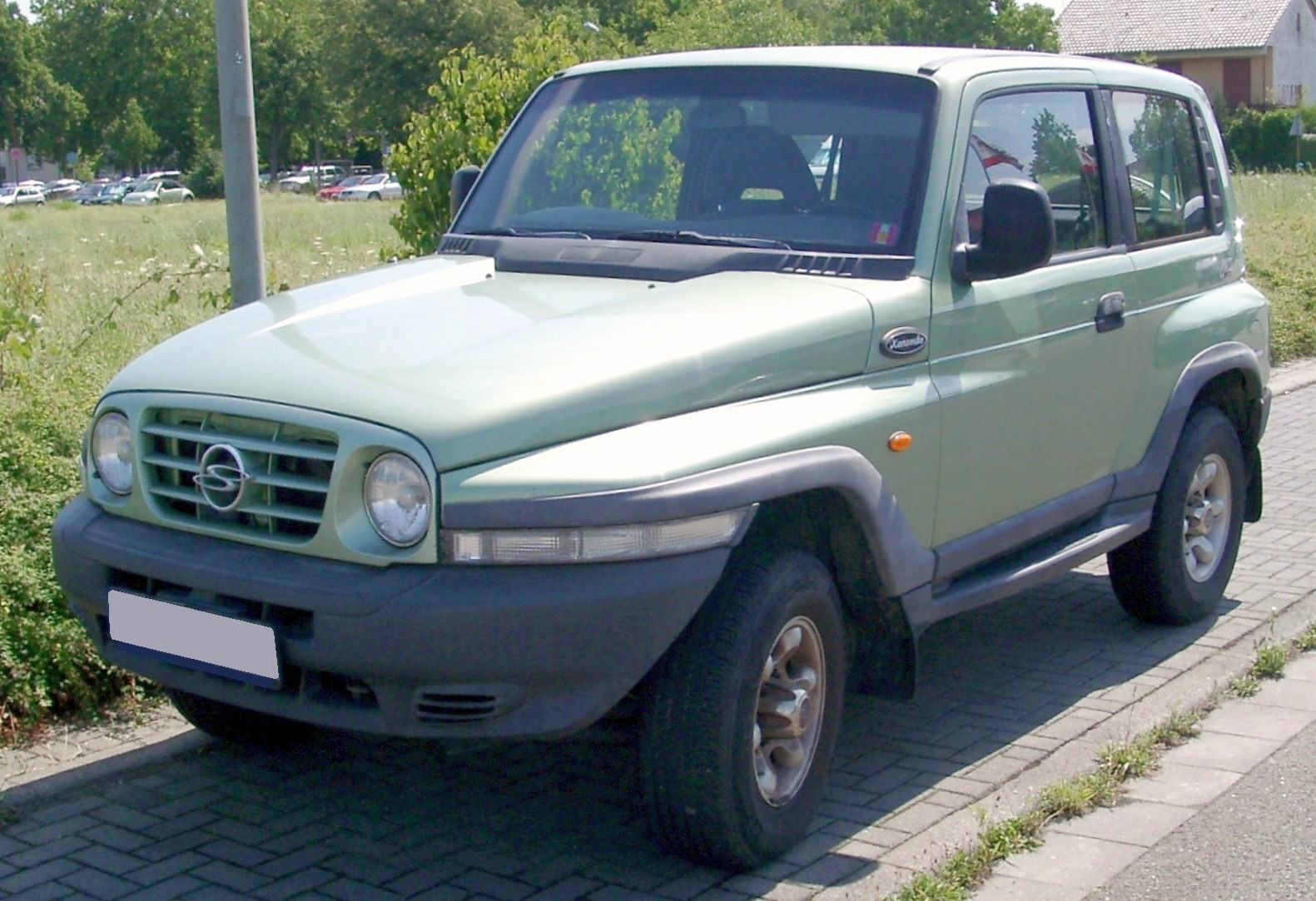 2006 Ssangyong Musso #16