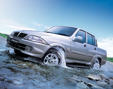 2007 Ssangyong Musso #1