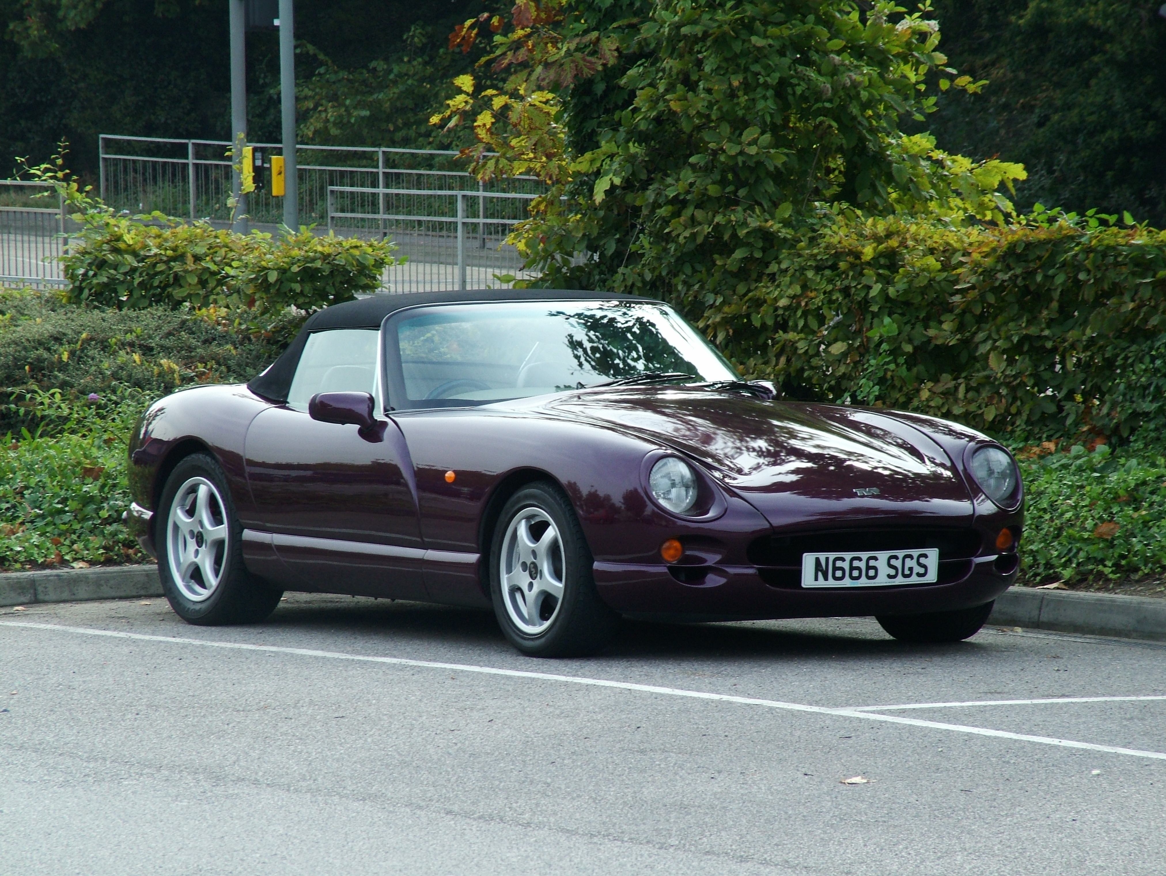 1997 TVR Griffith #1