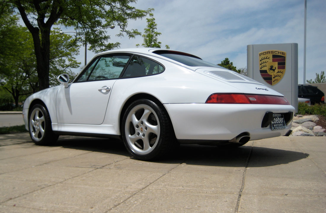 2000 Porsche 993 Photos Informations Articles