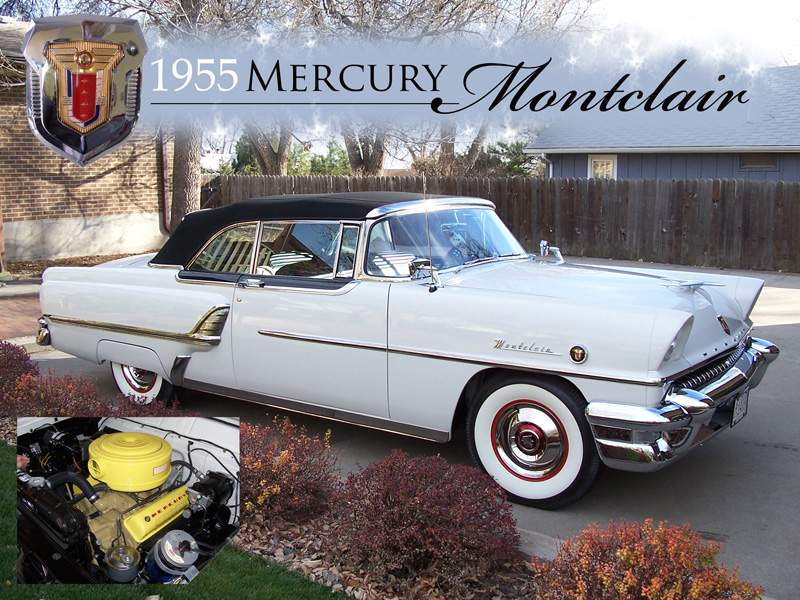 1955 Mercury Montclair #15