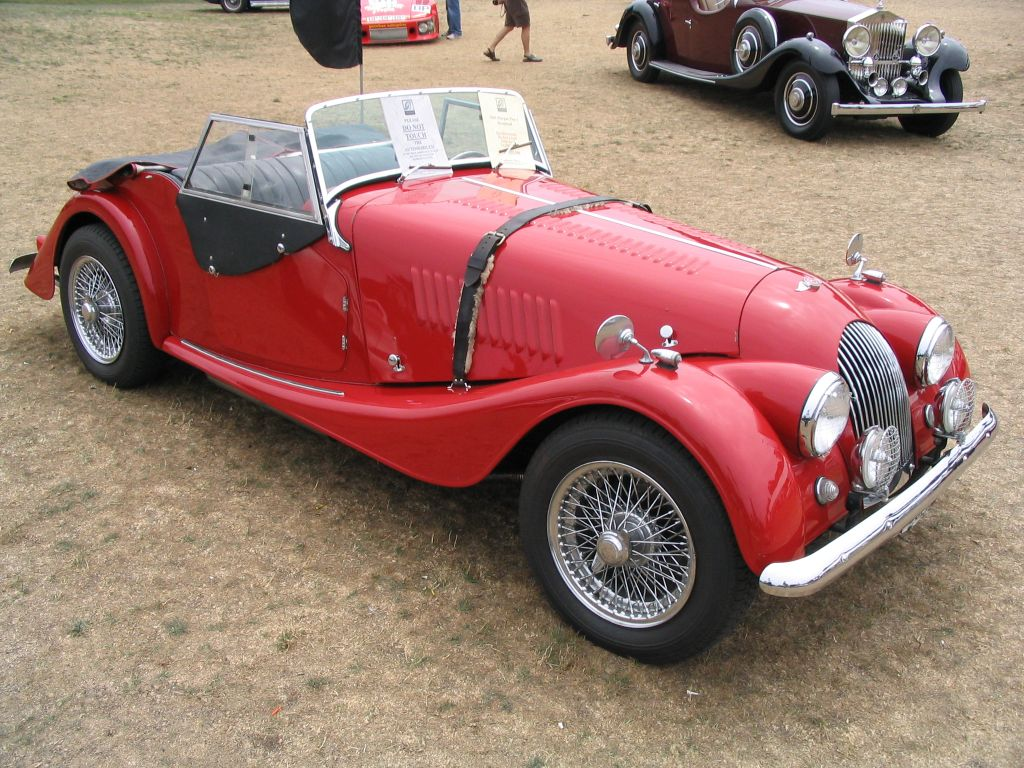 1955 Morgan Plus 4 #8