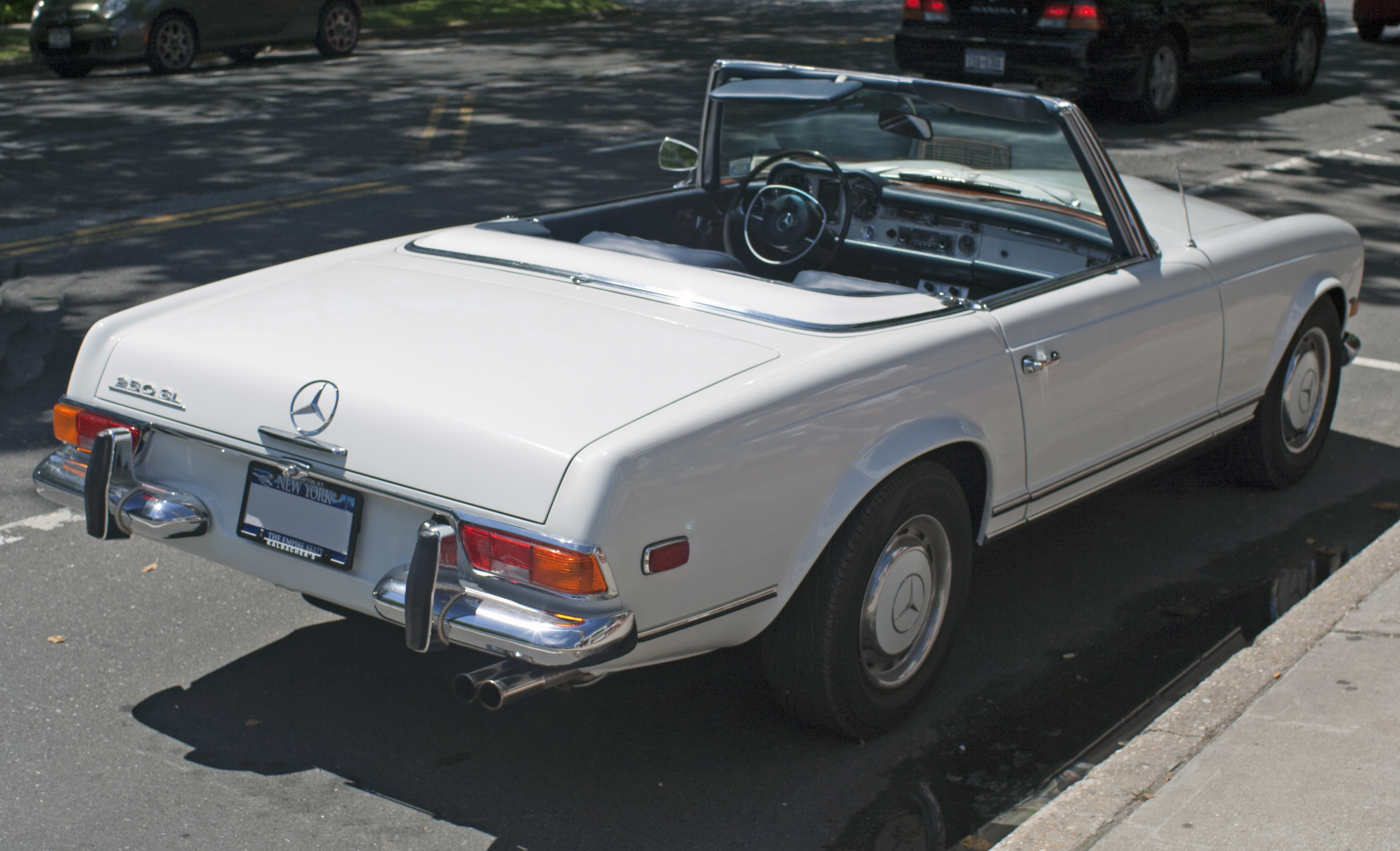 1966 Mercedes-Benz SL #12