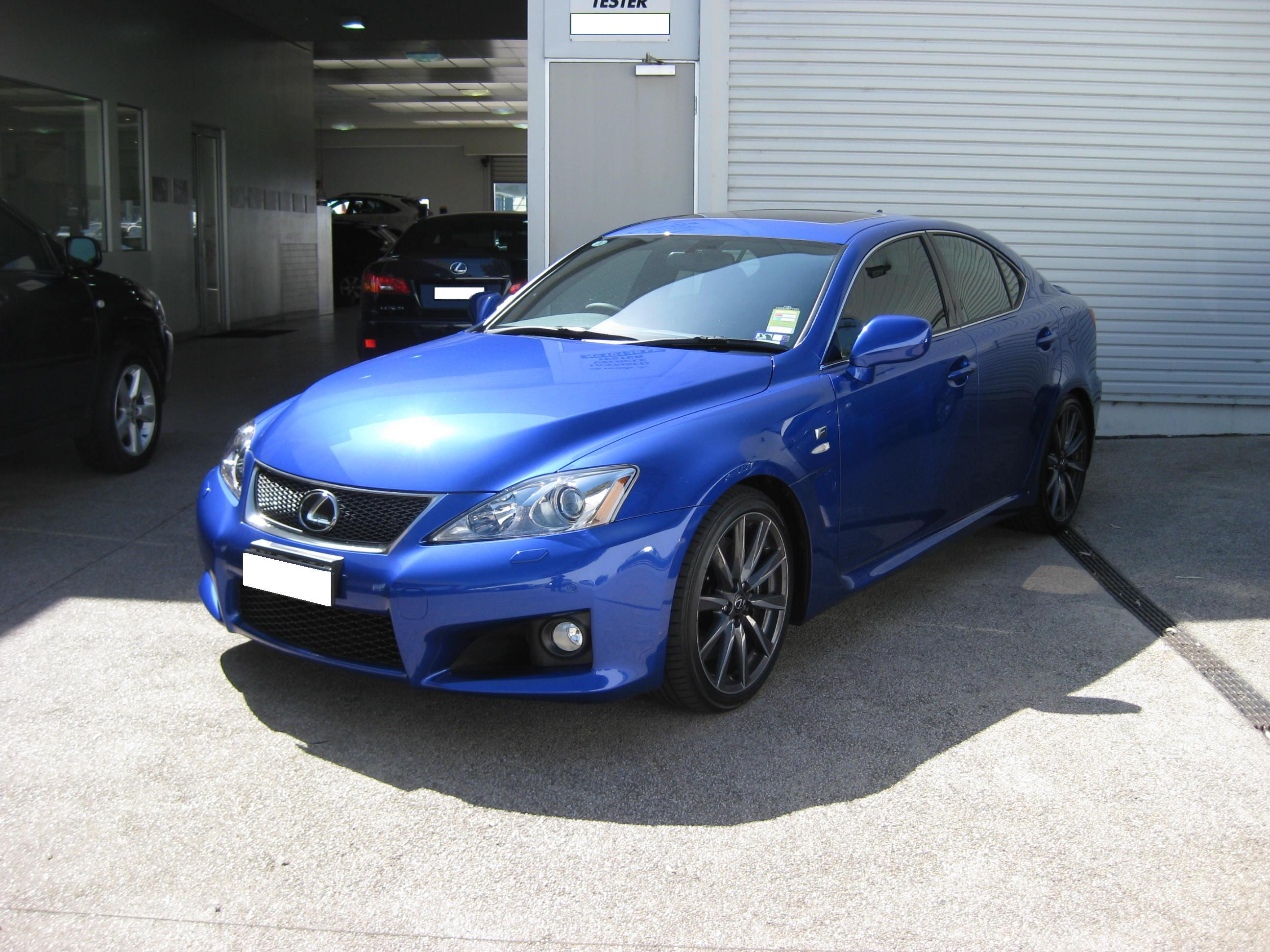 2008 Lexus Is F #5