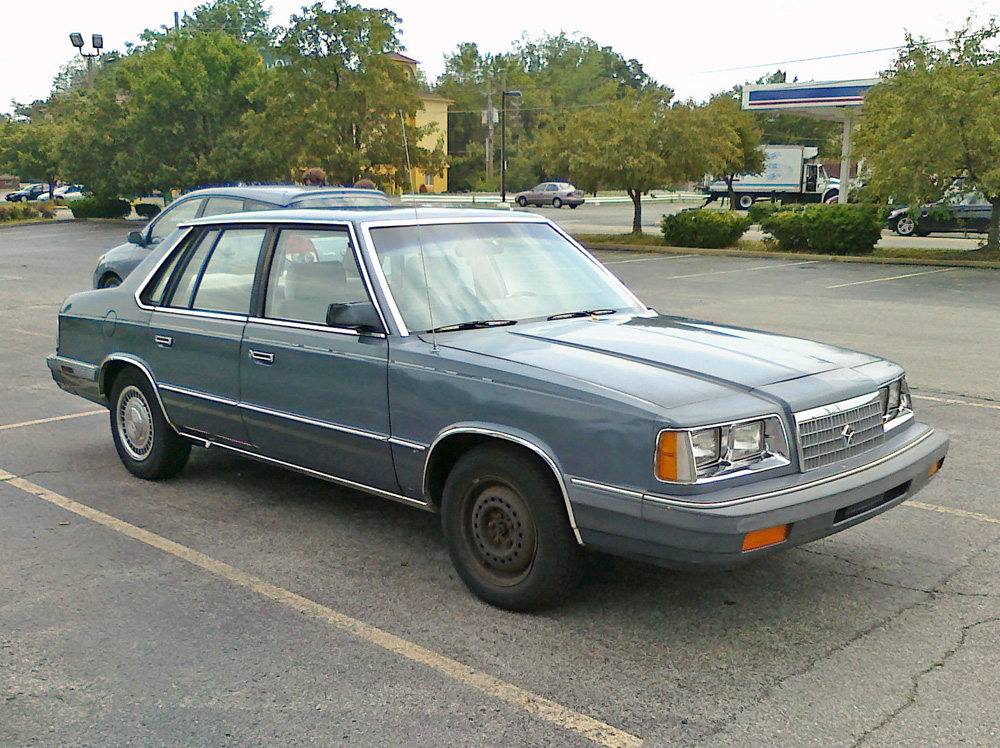 1986 Plymouth Caravelle #9