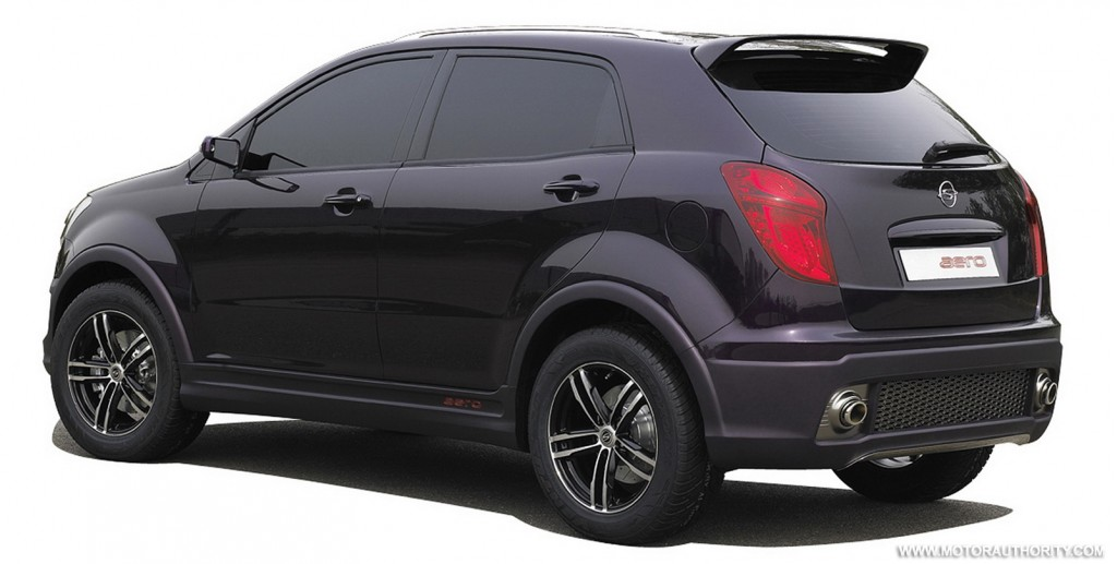 2011 Ssangyong Musso #13
