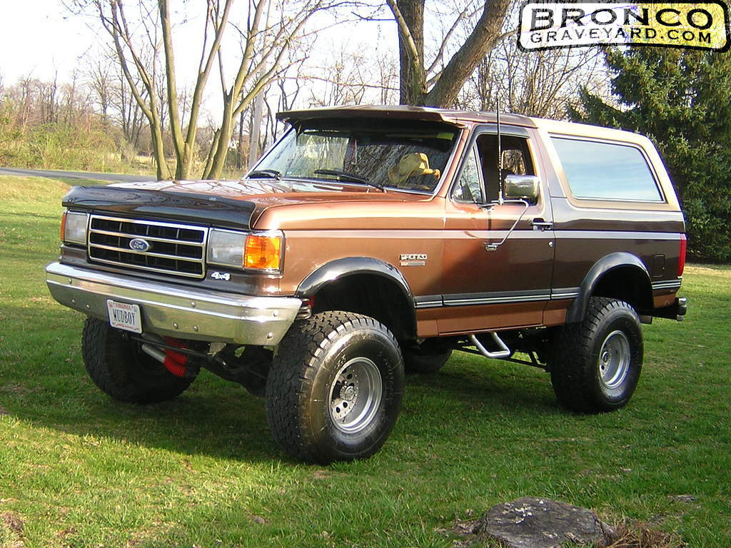 1991 Ford Bronco #9