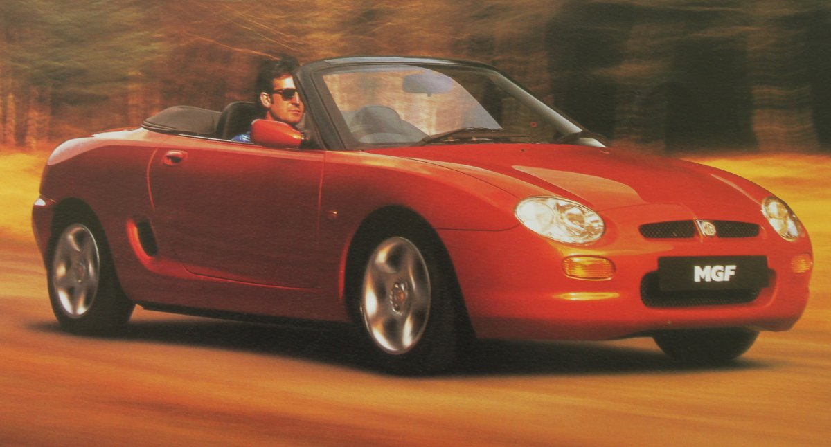 1995 Rover MGF #1