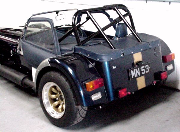 1991 Caterham Super 7 #16