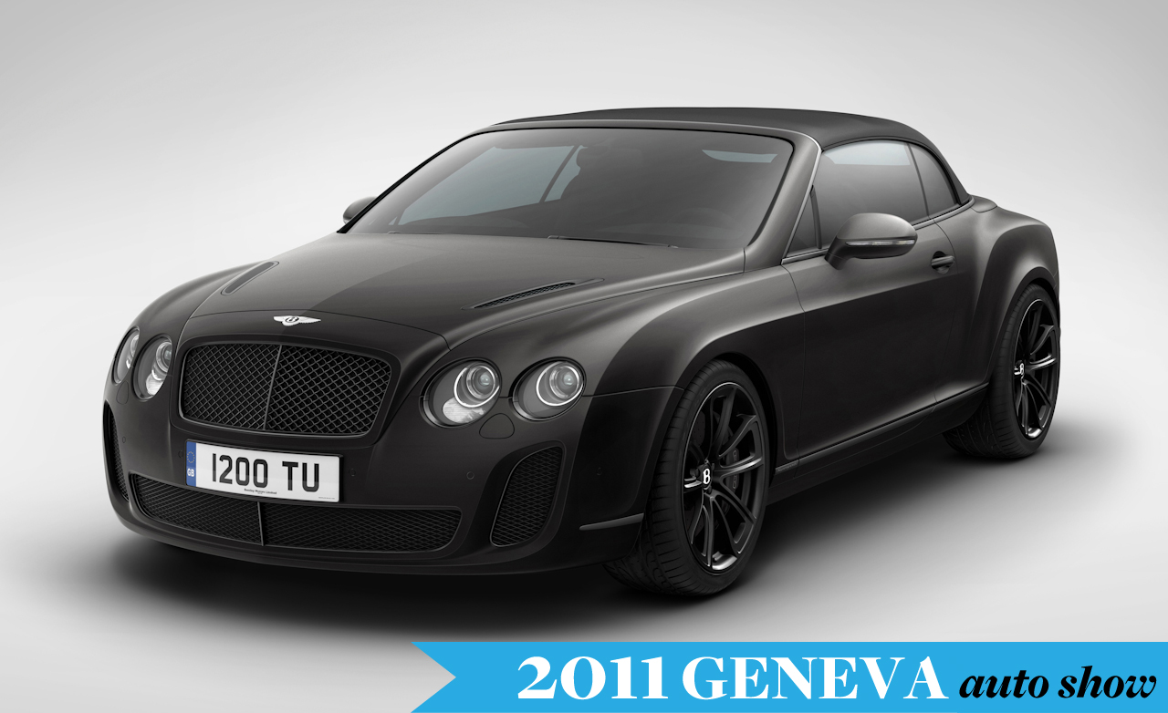 2011 Bentley Continental Supersports Convertible #12