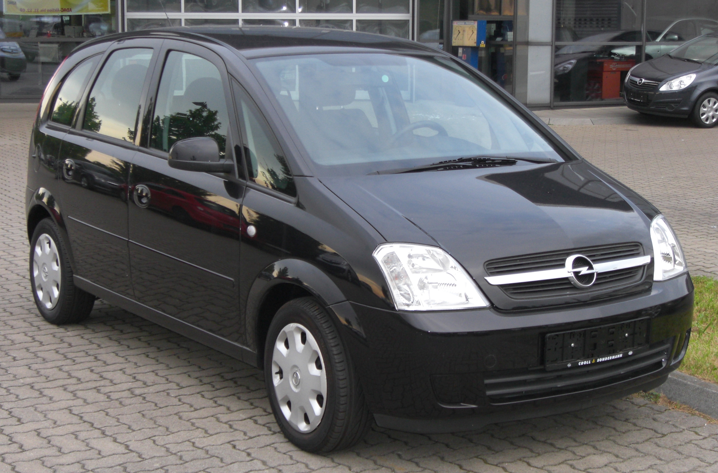 2008 opel meriva photos informations articles. Black Bedroom Furniture Sets. Home Design Ideas