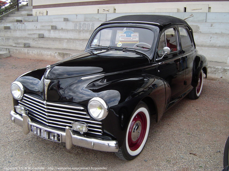 Peugeot 203 Photos, Informations, Articles