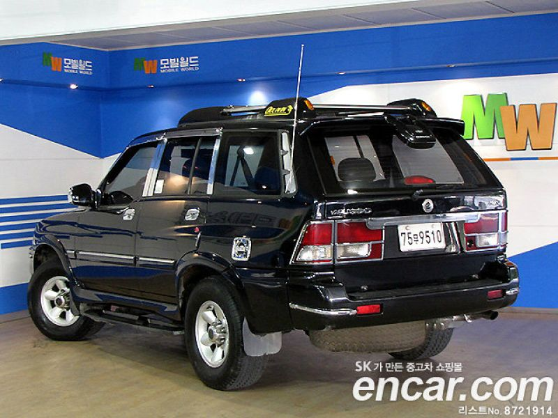 1999 Ssangyong Musso #8