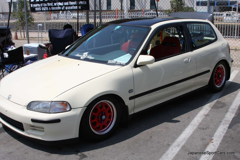 1993 Honda Civic #5