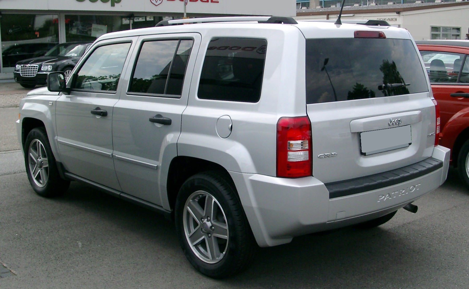 2008 Jeep Patriot #12