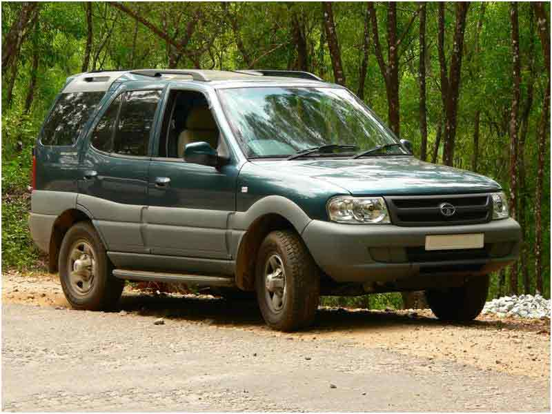 2002 Tata Safari #4