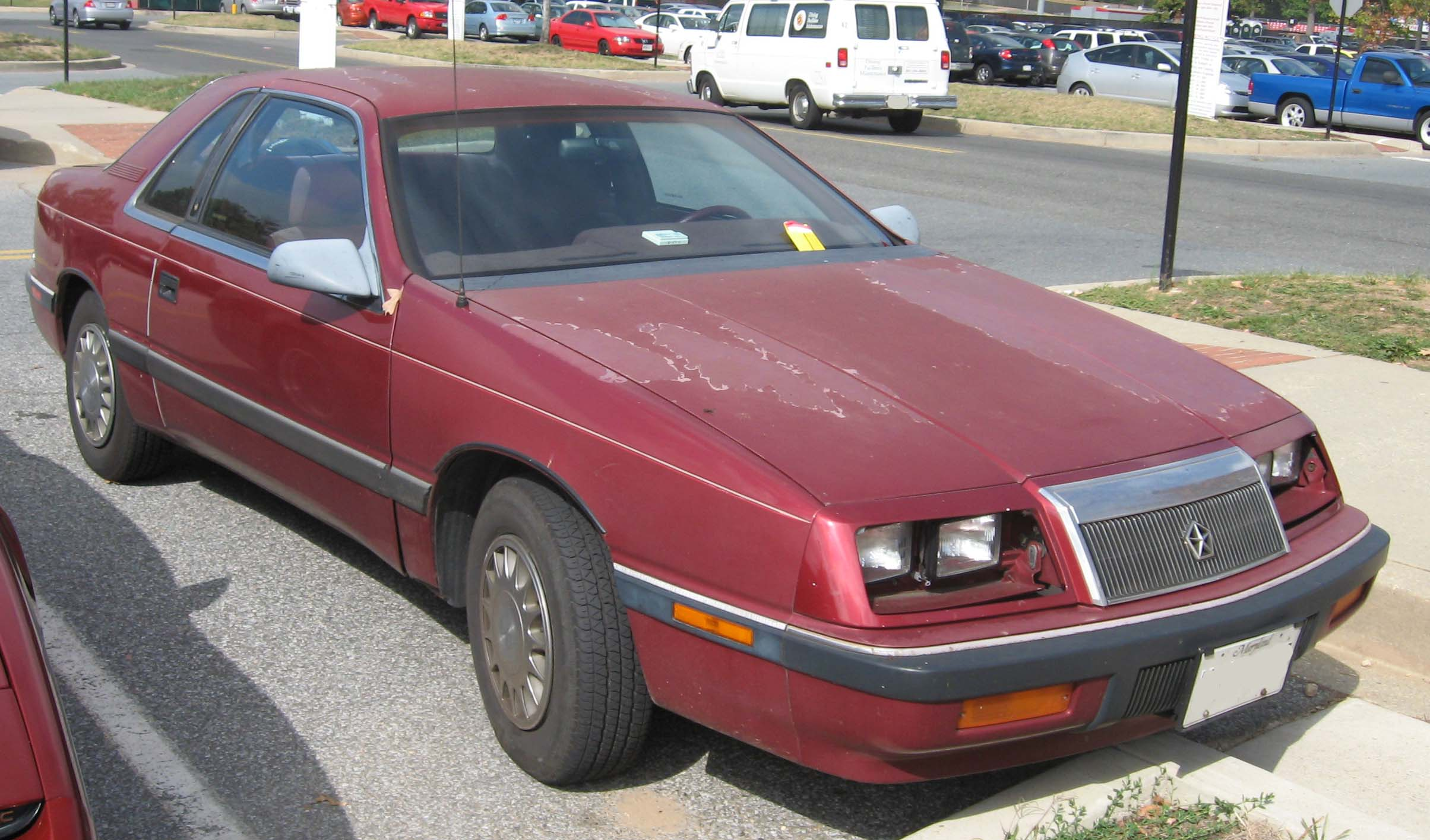 1990 Chrysler Le Baron #12