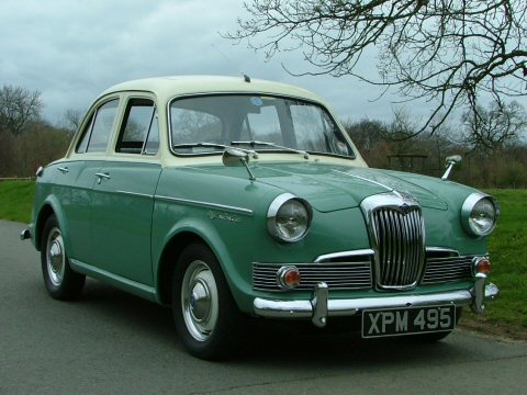 1962 Riley One-Point-Five #12