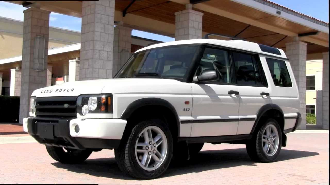 2004 Land Rover Discovery #5