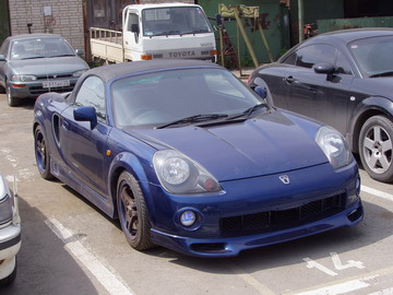 1999 Toyota MR-S #4