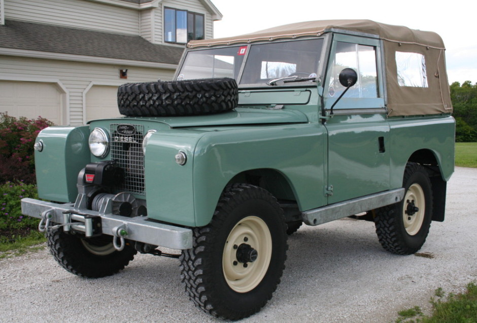 1960 Land Rover 88 Photos Informations Articles