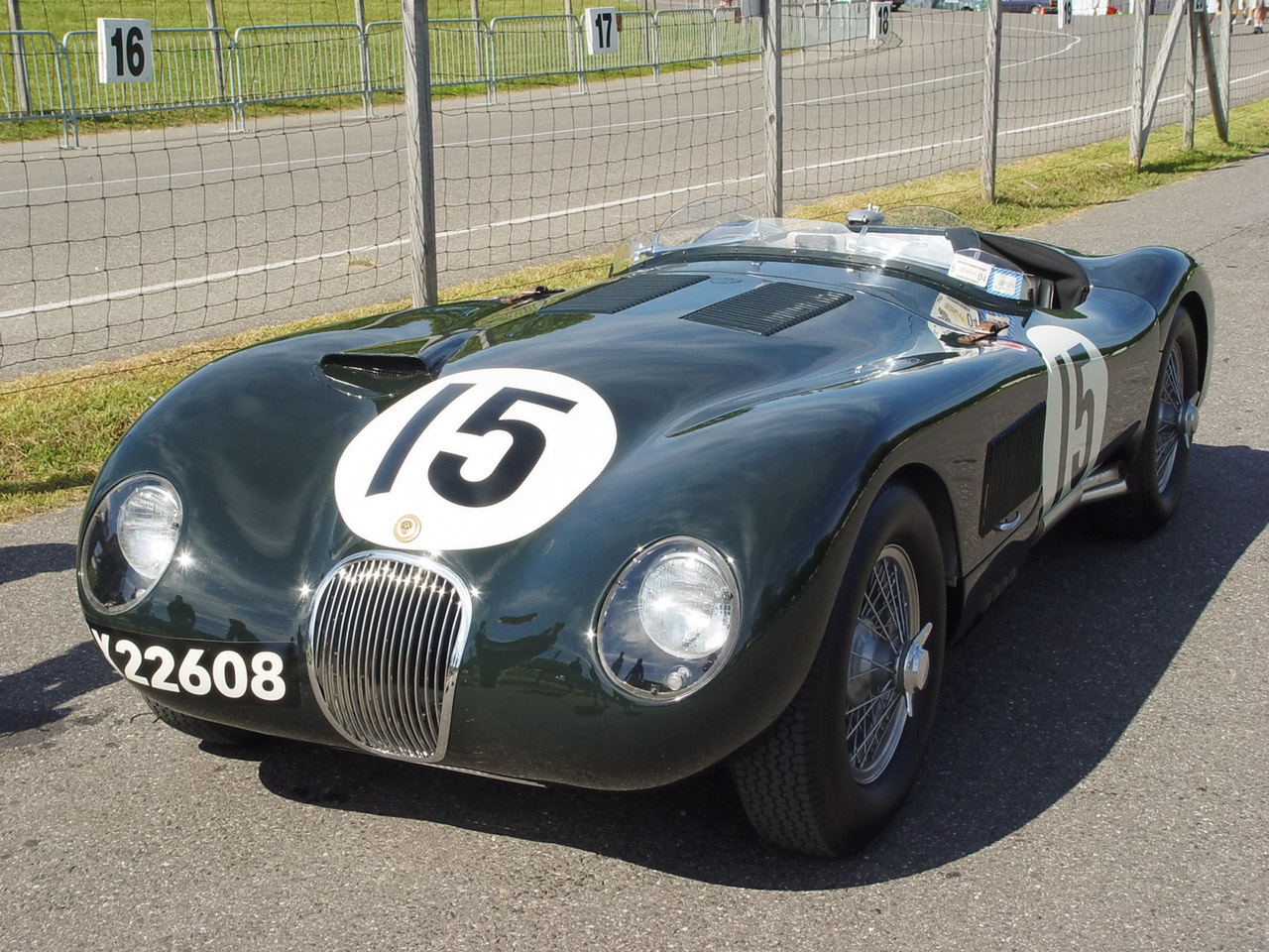 Jaguar C-Type #14