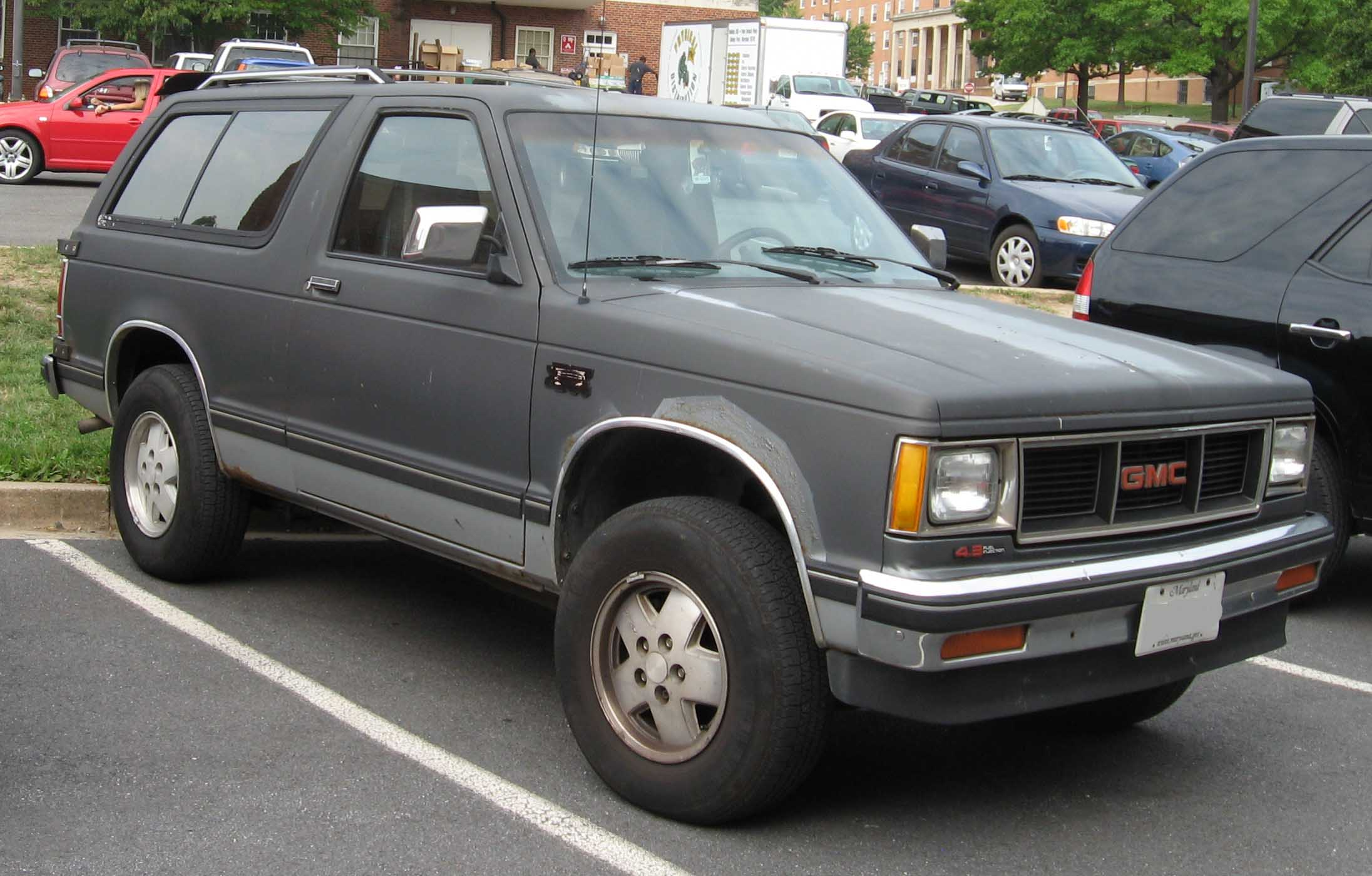 Chevrolet S 10 Blazer Photos Informations Articles 94 S10 Engine Diagram 9