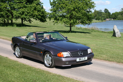 1992 Mercedes-Benz SL #13