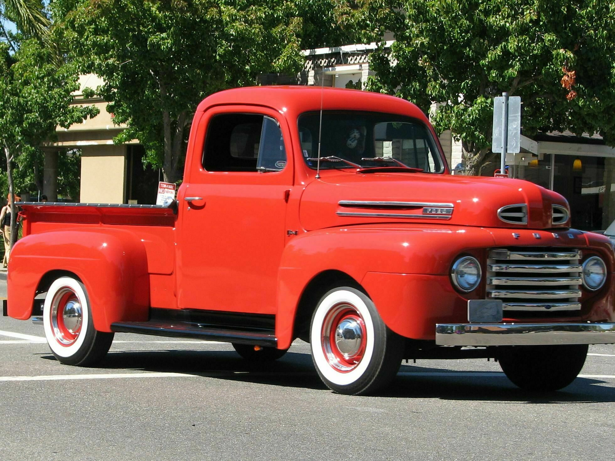 1949 Ford F #8