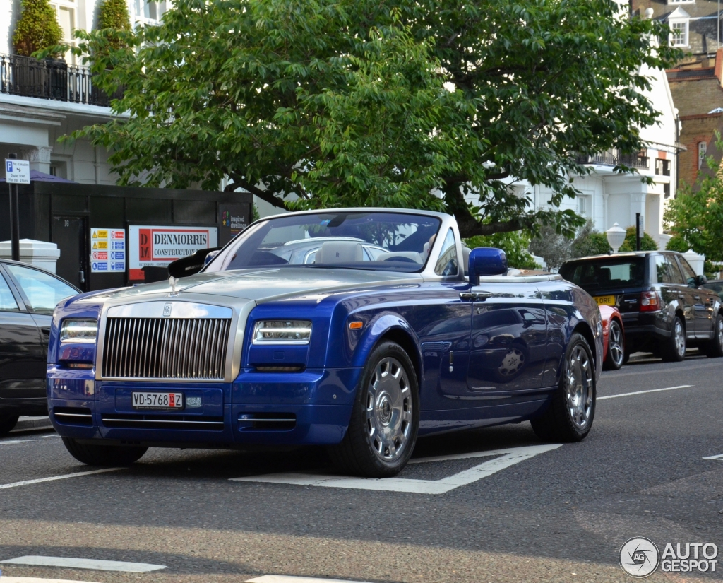 Rolls royce Phantom Drophead Coupe #11