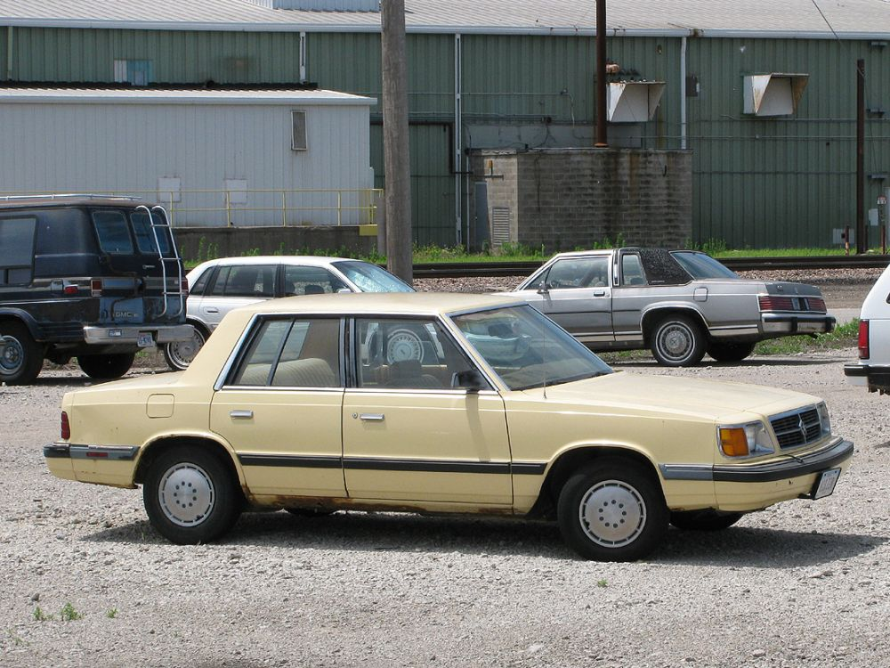 1985 Plymouth Reliant #12