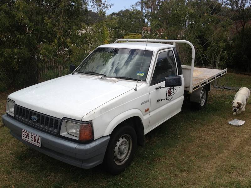 1985 Ford Courier #9