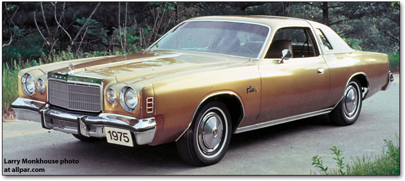 1974 Chrysler Cordoba #5