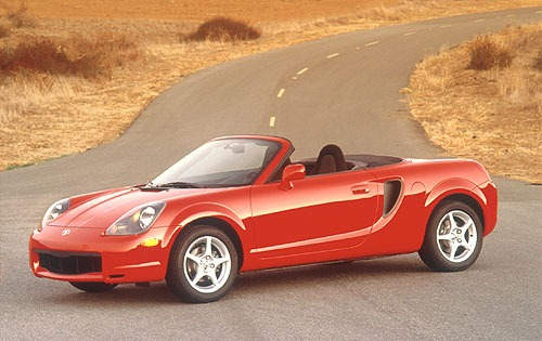 Toyota Mr2 Spyder #5