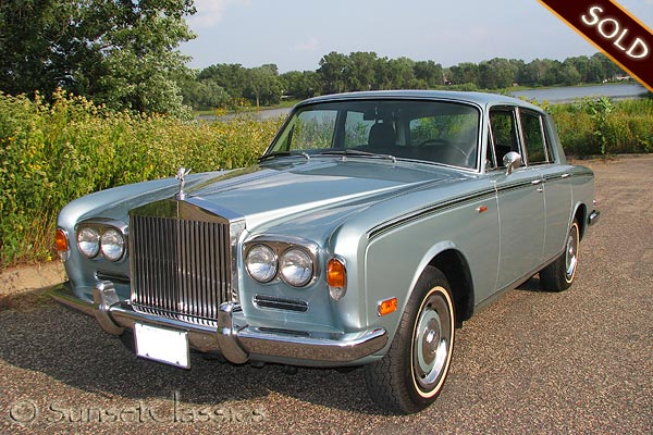 1973 Rolls royce Silver Shadow #4