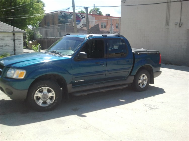 2001 Ford Explorer Sport Trac #14